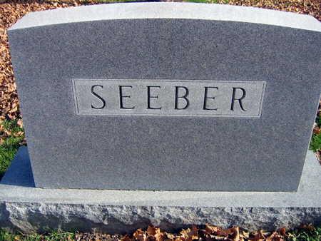 SEEBER, FAMILY STONE - Linn County, Iowa | FAMILY STONE SEEBER