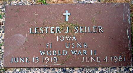 SEILER, LESTER J. - Linn County, Iowa   LESTER J. SEILER