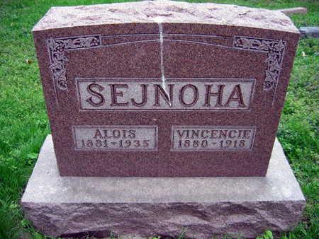 SEJNOHA, VINCENCIE - Linn County, Iowa | VINCENCIE SEJNOHA