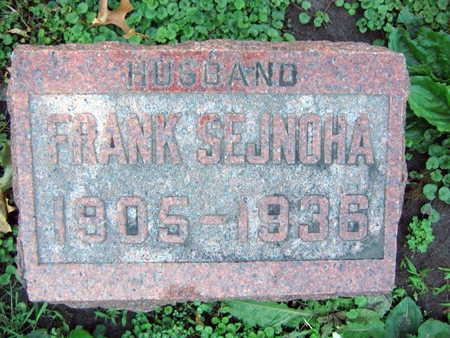 SEJNOHA, FRANK - Linn County, Iowa | FRANK SEJNOHA