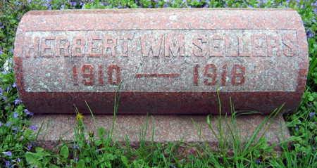 SELLERS, HERBERT WM. - Linn County, Iowa   HERBERT WM. SELLERS