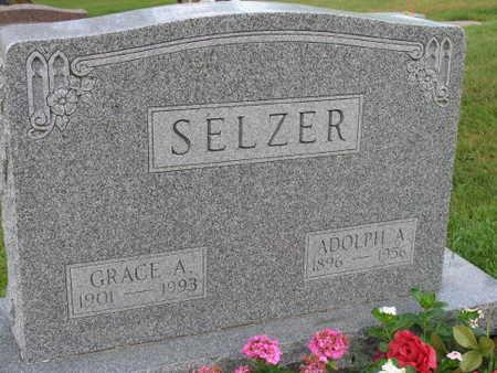 SELZER, GRACE A. - Linn County, Iowa | GRACE A. SELZER