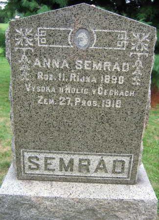 SEMRAD, ANNA - Linn County, Iowa | ANNA SEMRAD