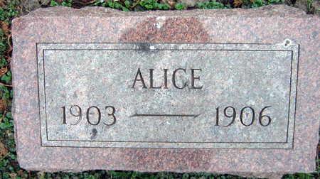 SERBOUSEK, ALICE - Linn County, Iowa | ALICE SERBOUSEK