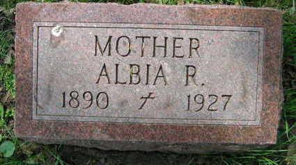 SERBOUSEK, ALBIA R. - Linn County, Iowa | ALBIA R. SERBOUSEK
