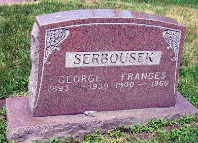 SERBOUSEK, FRANCES - Linn County, Iowa | FRANCES SERBOUSEK