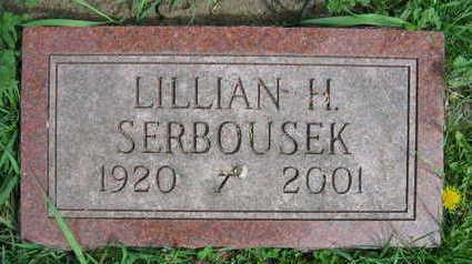 SERBOUSEK, LILLIAN H. - Linn County, Iowa | LILLIAN H. SERBOUSEK