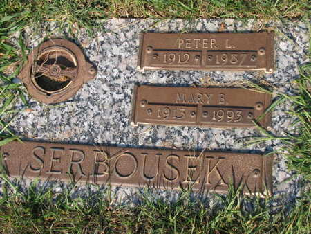 SERBOUSEK, MARY B. - Linn County, Iowa | MARY B. SERBOUSEK