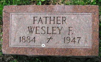 SERBOUSEK, WESLEY F. - Linn County, Iowa   WESLEY F. SERBOUSEK