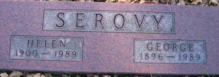 SEROVY, GEORGE - Linn County, Iowa   GEORGE SEROVY