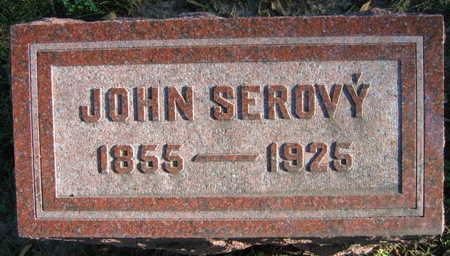 SEROVY, JOHN - Linn County, Iowa | JOHN SEROVY
