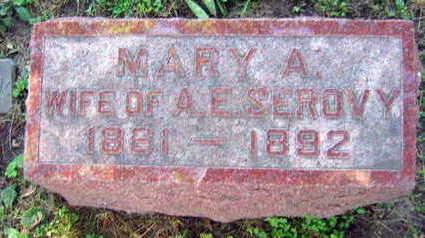 SEROVY, MARY A. - Linn County, Iowa   MARY A. SEROVY