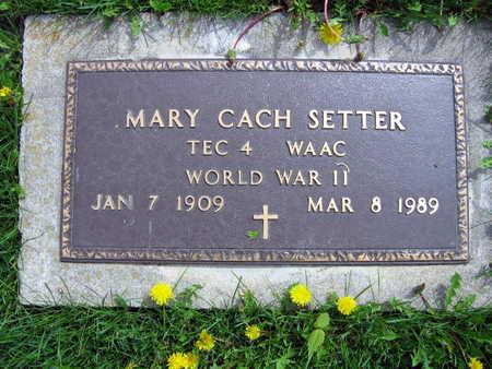 SETTER, MARY - Linn County, Iowa | MARY SETTER