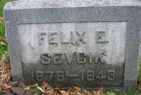 SEVCIK, FELIX E. - Linn County, Iowa | FELIX E. SEVCIK
