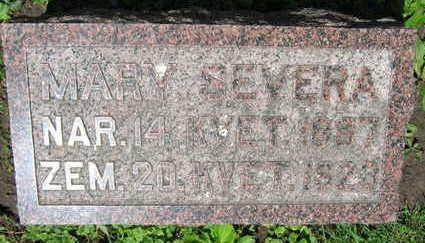 SEVERA, MARY - Linn County, Iowa | MARY SEVERA