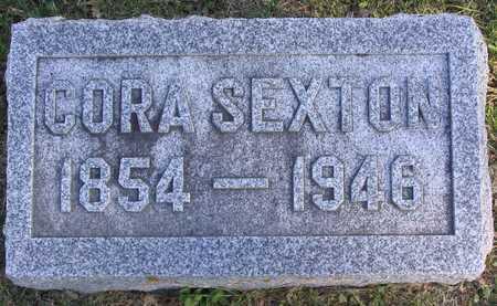 SEXTON, CORA - Linn County, Iowa | CORA SEXTON