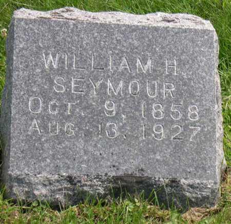 SEYMOUR, WILLIAM H. - Linn County, Iowa | WILLIAM H. SEYMOUR