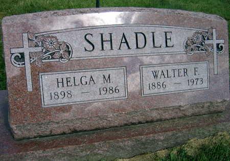 SHADLE, HELGA M. - Linn County, Iowa | HELGA M. SHADLE