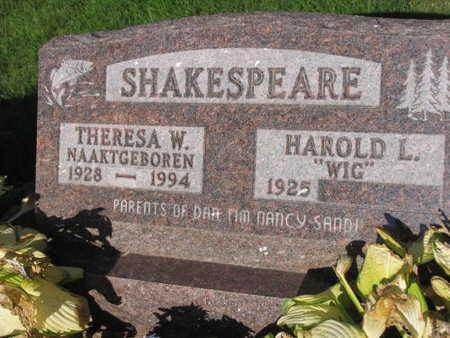 SHAKESPEARE, THERESA W. - Linn County, Iowa | THERESA W. SHAKESPEARE