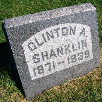 SHANKLIN, CLINTON A. - Linn County, Iowa | CLINTON A. SHANKLIN