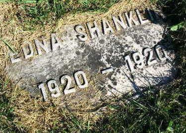 SHANKLIN, EDNA - Linn County, Iowa | EDNA SHANKLIN