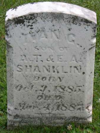 SHANKLIN, IVAN G. - Linn County, Iowa | IVAN G. SHANKLIN