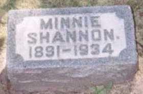 SHANNON, MINNIE - Linn County, Iowa | MINNIE SHANNON