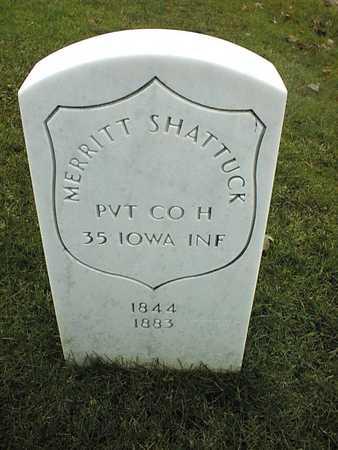SHATTUCK, PVT. MERRITT - Linn County, Iowa   PVT. MERRITT SHATTUCK