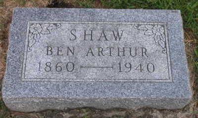 SHAW, BEN ARTHUR - Linn County, Iowa | BEN ARTHUR SHAW