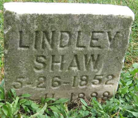 SHAW, LINDLEY - Linn County, Iowa | LINDLEY SHAW