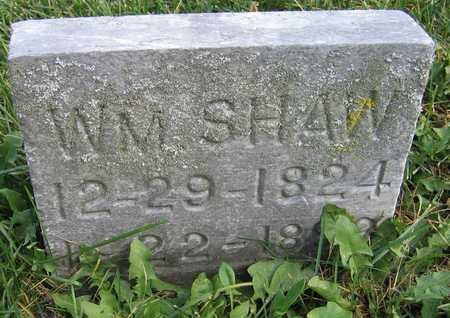 SHAW, WM. - Linn County, Iowa | WM. SHAW