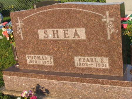 SHEA, PEARL E. - Linn County, Iowa | PEARL E. SHEA
