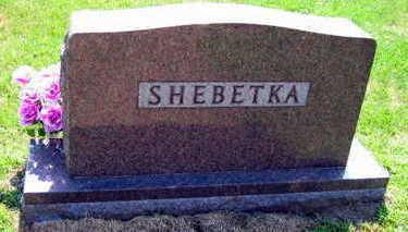 SHEBETKA, FAMILY STONE - Linn County, Iowa | FAMILY STONE SHEBETKA