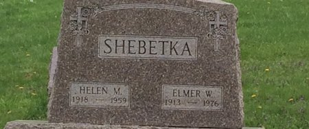 SHEBETKA, ELMER W. - Linn County, Iowa   ELMER W. SHEBETKA