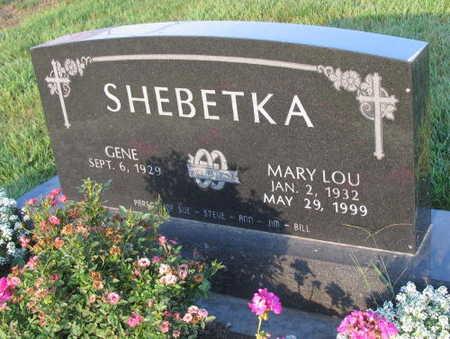 SHEBETKA, MARY LOU - Linn County, Iowa | MARY LOU SHEBETKA