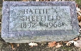 SHEFFIELD, HATTIE A. - Linn County, Iowa | HATTIE A. SHEFFIELD
