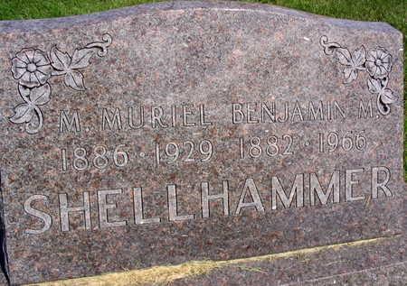 SHELLHAMMER, M. MURIEL - Linn County, Iowa | M. MURIEL SHELLHAMMER
