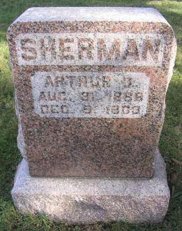 SHERMAN, ARTHUR J. - Linn County, Iowa   ARTHUR J. SHERMAN