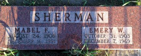 SHERMAN, EMERY W. - Linn County, Iowa | EMERY W. SHERMAN