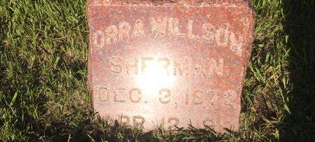 SHERMAN, ORRA WILLSON - Linn County, Iowa | ORRA WILLSON SHERMAN