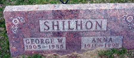 SHILHON, GEORGE W. - Linn County, Iowa | GEORGE W. SHILHON
