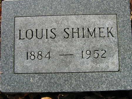SHIMEK, LOUIS - Linn County, Iowa | LOUIS SHIMEK