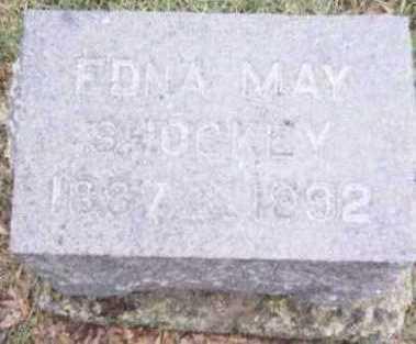 SHOCKEY, EDNA MAY - Linn County, Iowa | EDNA MAY SHOCKEY