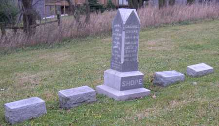 SHOPE, FAMILY STONE - Linn County, Iowa | FAMILY STONE SHOPE