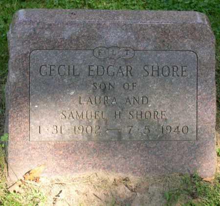 SHORE, CECIL EDGAR - Linn County, Iowa | CECIL EDGAR SHORE