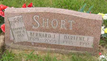 SHORT, BERNARD J. - Linn County, Iowa   BERNARD J. SHORT