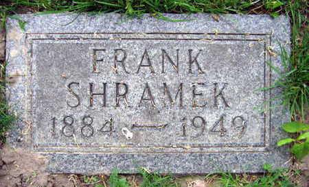 SHRAMEK, FRANK - Linn County, Iowa   FRANK SHRAMEK