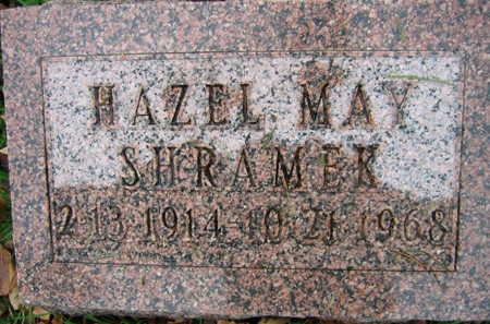 SHRAMEK, HAZEL MAY - Linn County, Iowa | HAZEL MAY SHRAMEK