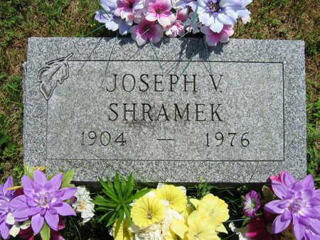 SHRAMEK, JOSEPH V. - Linn County, Iowa   JOSEPH V. SHRAMEK