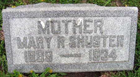 SHUSTER, MARY R. - Linn County, Iowa   MARY R. SHUSTER